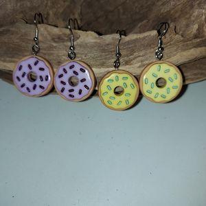Super Sweet Donut earrings